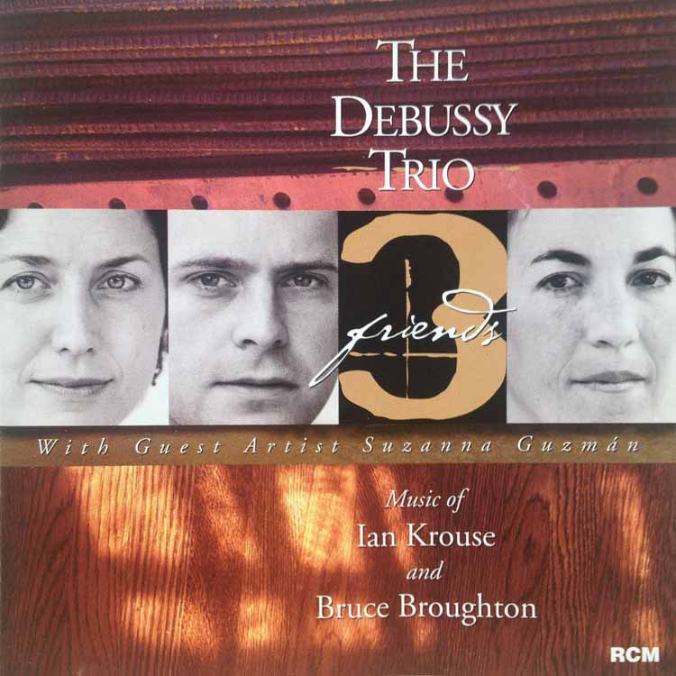 Three Friends - The Debussy Trio - album cover