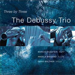 Three by Three by The Debussy Trio