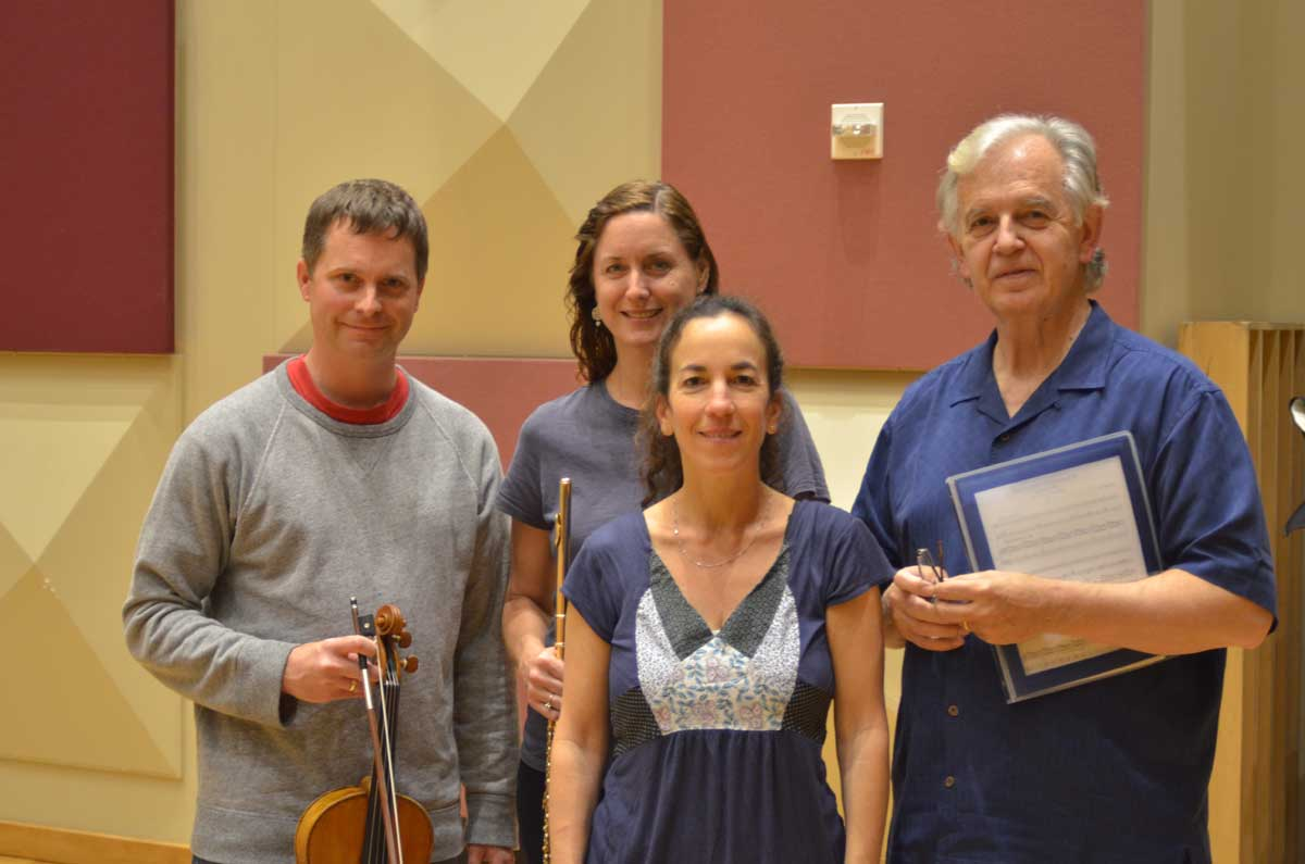 The Debussy Trio (David Walther, Angela Wiegand, Marcia Dickstein) with Bruce Broughton