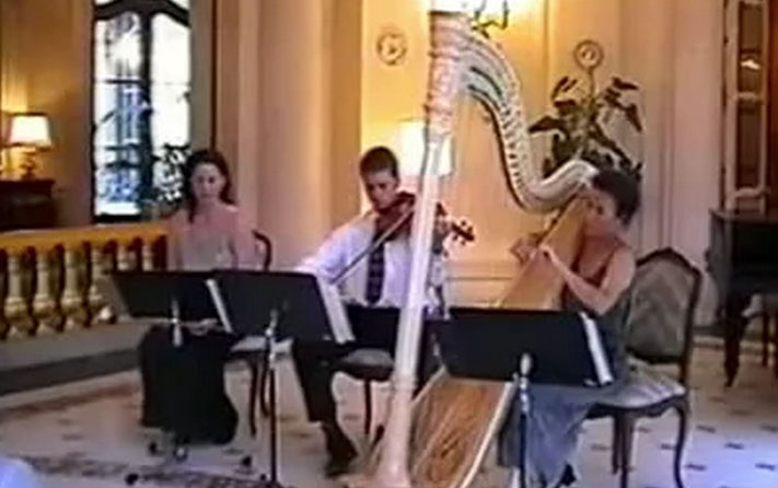 Prague concert by The Debussy Trio